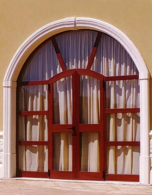 Cornici in cemento per finestre ad arco - Finestre ad arco prezzi ...
