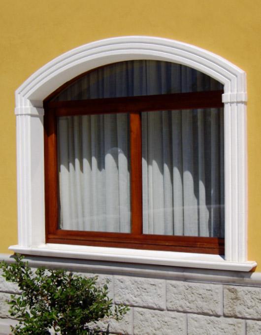 Cornici in cemento per finestre - Cornici finestre in polistirolo ...