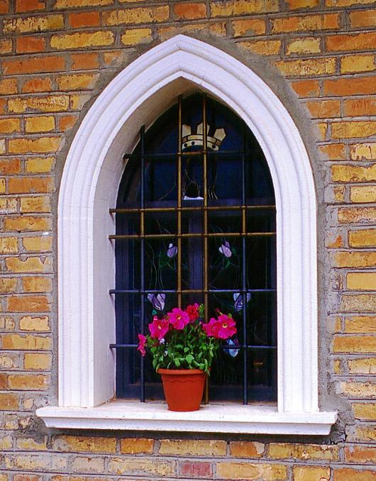 Cornici in cemento per finestre ad arco acuto - Cornici per finestre esterne prezzi ...