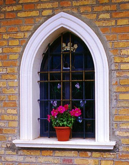 Cornici finestre in calcestruzzo