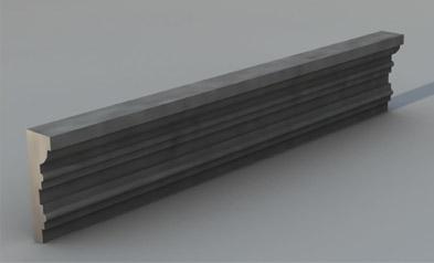 Cornice marcapiano modello M1