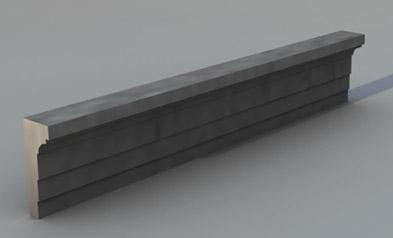 Cornice marcapiano modello M2