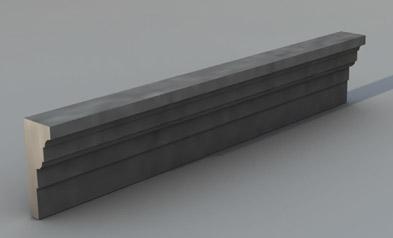 Cornice marcapiano modello M4