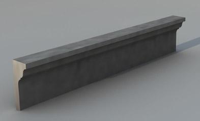 Cornici in cemento per facciate