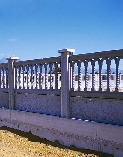 pannelli per recinzioni in cemento