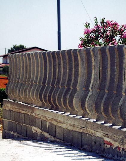 Paletti per recinzioni prefabbricate