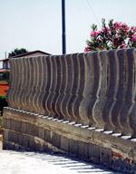 Recinzioni in cemento a paletti