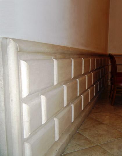 Zoccolature per decorazioni interne ed esterne