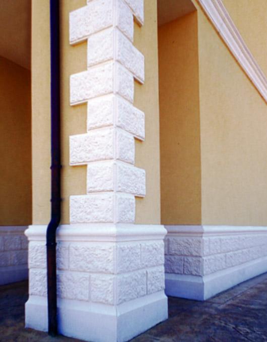 Zoccolature in cemento per muri art 93/94/95-b
